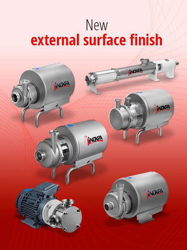 Pumps with new surface finish